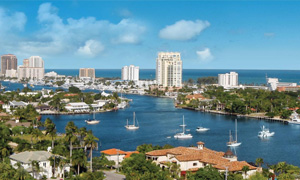 Aerial of Greater Fort Lauderdale