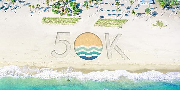 50 thousand Social Media Followers