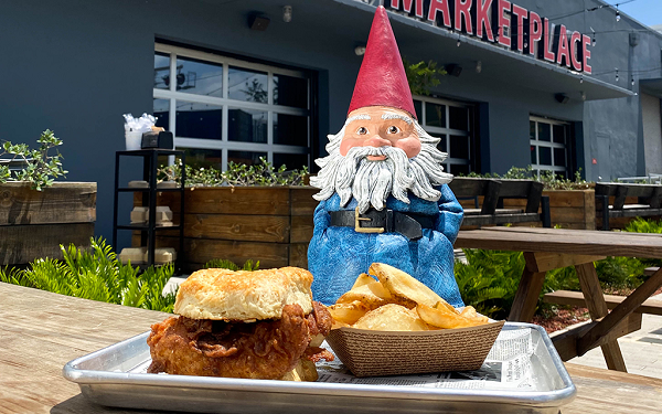 Travelocity Roaming Gnome at Sistrunk Marketplace