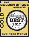 2017 Golden Bridge Awards Gold