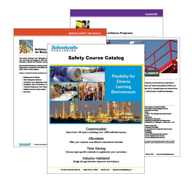 Schoolcraft Safety DVD Catalog