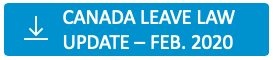 Canada leave law update - February 2020